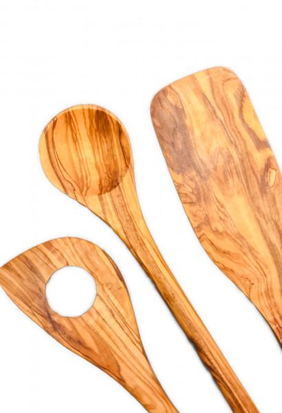 Olivenholz Küchenhelfer Set 3teilig